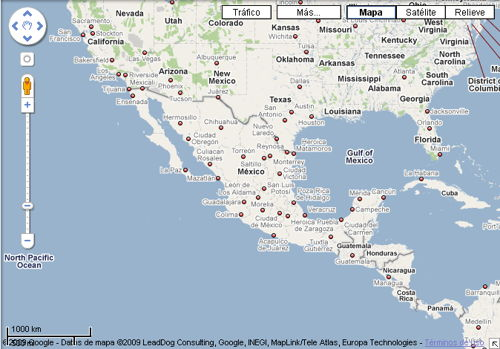 google maps mxico
